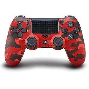 Controle Sem Fio – Dualshock 4 Camuflado ( Red Camo ) – PS4