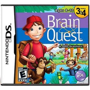 Brain Quest Ages 8 -10 Seminovo – DS