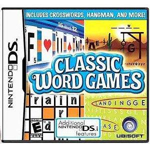 Classic Word Games Seminovo – DS