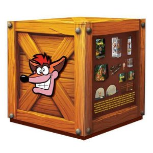 Crash Bandicoot Big Box Crate
