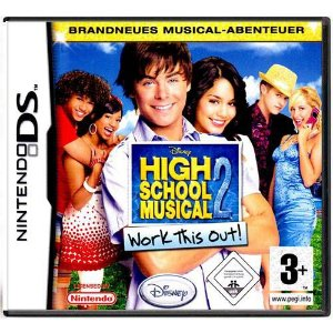 High School Musical 2 Work This Out Seminovo – DS