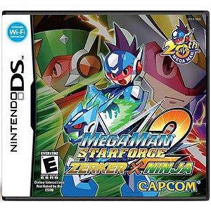 Mega Man Starforce Zerker x Ninja Seminovo – DS