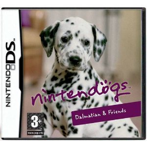 Nintendogs Dalmatian E Friends Seminovo – DS