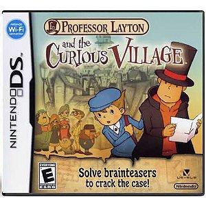 Professor Layton And The Curious Village Seminovo – DS
