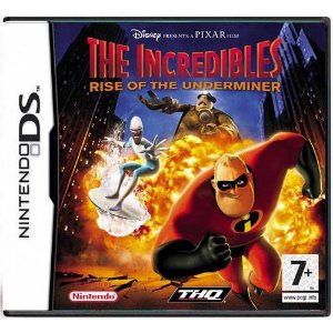 The Incredibles Rise Of The Underminer Seminovo – DS