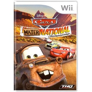 Cars Mater-National Seminovo – Wii