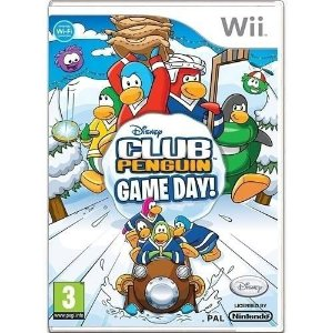 Club Penguin Game Day Seminovo – Wii