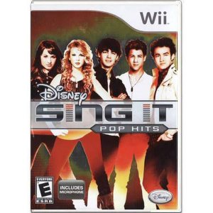 Disney Sing It Pop Hits Seminovo – Wii