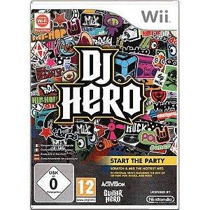 DJ Hero Seminovo – Wii