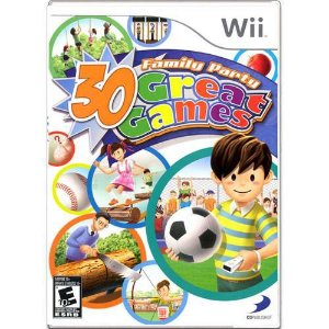 Family Party 30 Great Games Seminovo – Wii