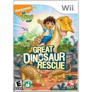 Great Dinosaur Rescue Seminovo – Wii
