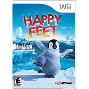 Happy Feet (LEVES ARRANHADOS) Seminovo – Wii