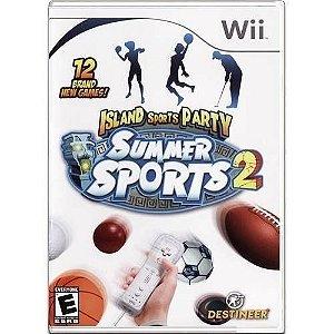 Island Sports Party Summer Sports 2 Seminovo – Wii