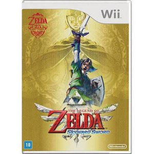 Legend of Zelda: Skyward Sword Seminovo – Wii