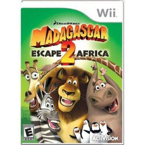 Madagascar 2 Escape Africa Seminovo – Wii