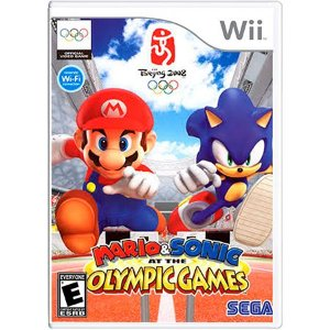 Mario & Sonic at the Olympic Games Seminovo – Wii