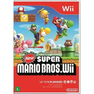 New Super Mario Bros Seminovo – Wii