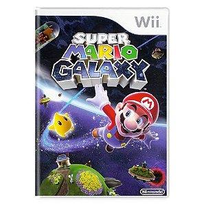 Super Mario Galaxy Seminovo PAL – Wii