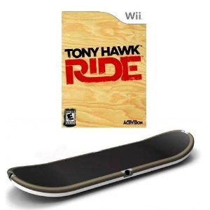 Tony Hawk Ride C/ Skate Seminovo – Wii