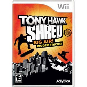 Tony Hawk Shred Big Air! Bigger Tricks! Seminovo – Wii