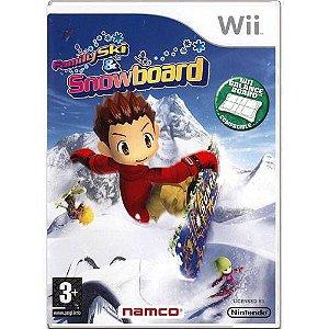 We Ski E Snowboard Seminovo – Wii