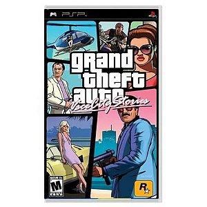 Grand Theft Auto GTA Vice City Stories Seminovo – PSP