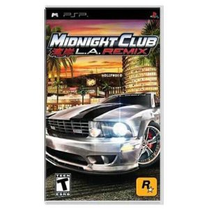 Midnight Club L.A. Remix Seminovo – PSP