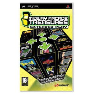 Midway Arcade Treasures Extended Play Seminovo – PSP