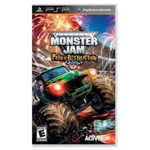 Monster Jam Path of Destruction Seminovo – PSP