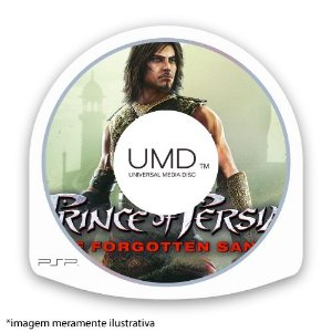 Prince Of Persia The Forgotten Sands (SEM CAPA) Seminovo – PSP