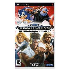 Sega Mega Drive Collection Seminovo – PSP