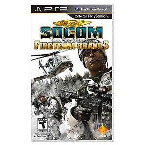Socom U.S. Navy Seals Fireteam Bravo 3 Seminovo – PSP