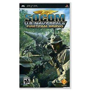 Socom U.S. Navy Seals Fireteam Bravo Seminovo – PSP
