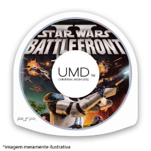 Star Wars Battlefront 2 (SEM CAPA) Seminovo - PSP