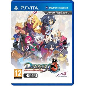Disgaea 3: Absence of Detention Seminovo – PS VITA