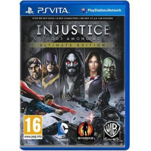 Injustice God Among Us Ultimate Edition Seminovo – PS VITA