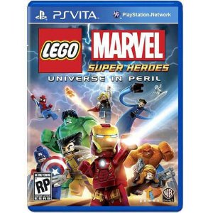 Lego Marvel Super Heroes Universe in Peril Seminovo – PS VITA