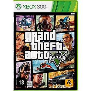 Grand Theft Auto GTA V – Xbox 360