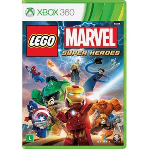 Lego Marvel Super Heroes Seminovo – Xbox 360