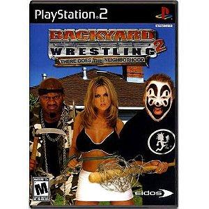 Backyard Wrestling 2 There Goes The Neighborhood Seminovo – PS2