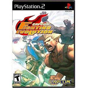 Capcom Fighting Evolution Seminovo – PS2