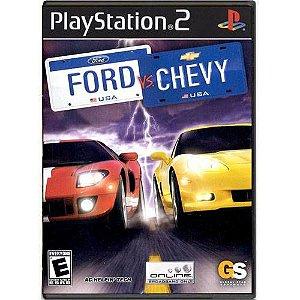 Ford VS Chevy Seminovo – PS2
