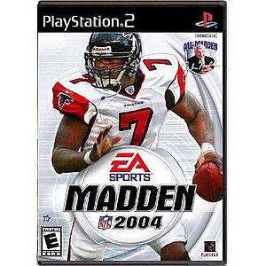 Madden NFL 2004 Seminovo – PS2