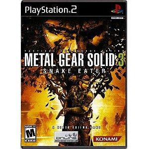 Metal Gear Solid 3 Snake Eater Seminovo – PS2
