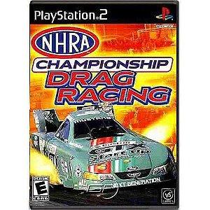 NHRA Championship Drag Racing Seminovo – PS2