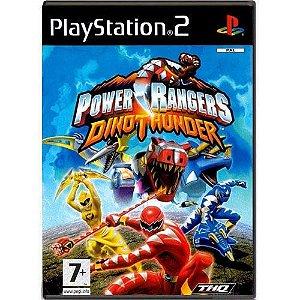 Power Rangers Dino Thunder Seminovo – PS2