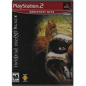 Twisted Metal Black Seminovo – PS2