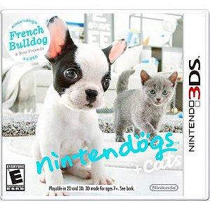 Nintendogs + Cats: French Bulldog – 3DS