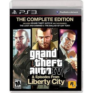 Grand Theft Auto GTA IV & Episodes From Liberty City – PS3