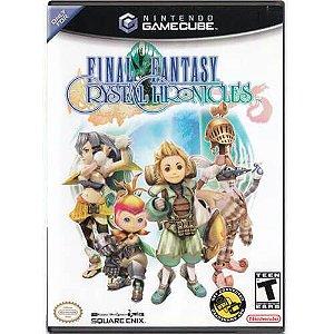 Final Fantasy Crystal Chronicles Seminovo – Nintendo GameCube